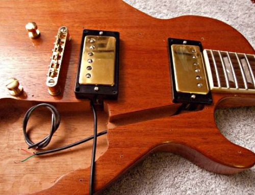 HOW  ELECTRIC  GUITARS  ARE  WIRED