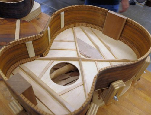 THE CONSTRUCTION OF ACOUSTIC GUITARS
